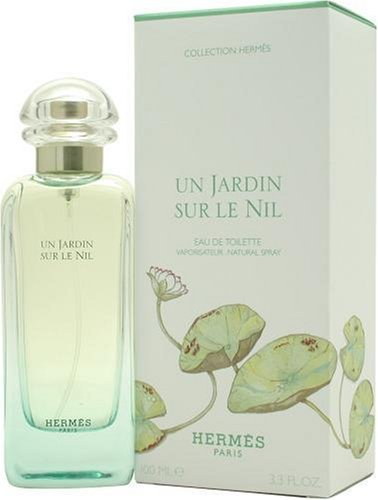 Un Jardin Sur Le Nil By Hermes For Women, Eau De Toilette Spray, 3.3-Ounce Bottle