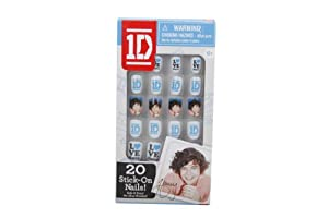 1 Direction 2D Stick-on Nails - Harry from The Wish Factory