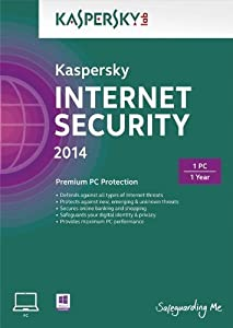 Kaspersky Internet Security 2014 Upgrade - 1 PC