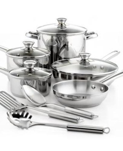 Tools of the Trade Classic Cookware, 12 Piece Set