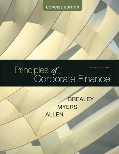 the principles of corporate finance