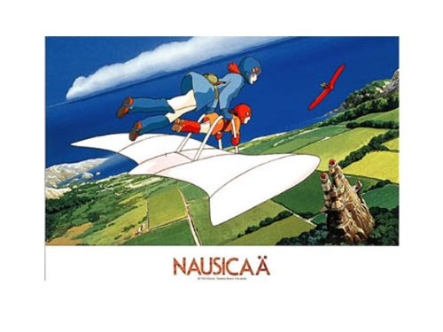 Aboard the Nausicaa of the Valley of the wind jigsaw puzzle 500-230 parallel imported goods