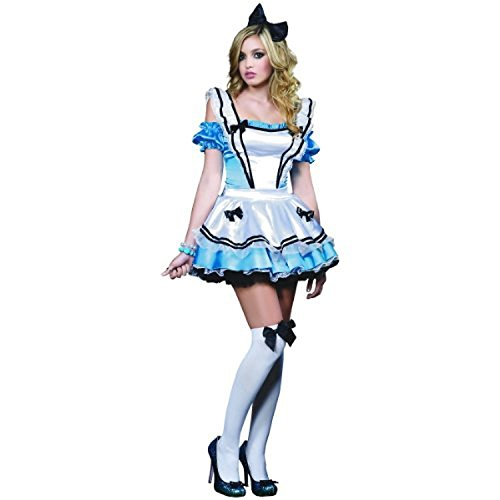 Deluxe Adorable Alice Adult Costume