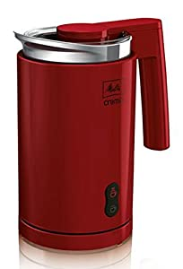 Melitta Cremio Milk Heater and Frother - Red