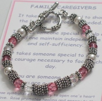 Message of Love Jewelry Caregiver Bracelet