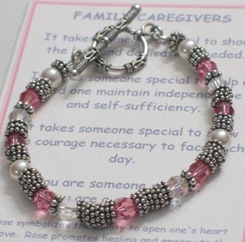Message of Love Jewelry Caregiver Bracelet