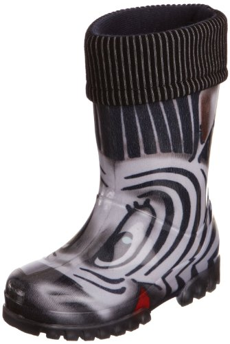Kids Boys & Girls Zebra Wellington Wellies Boots
