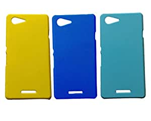 Winsome Deal 3 Pieces of Exclusive Quality Hard Back Cover Case For Sony Xperia E3