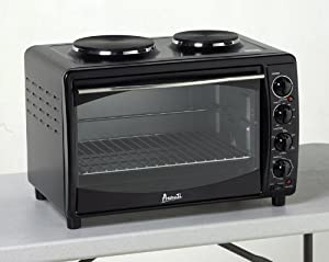 Avanti Mkb42B Black Oven Convection Toaster 2Burners Mini Kitch
