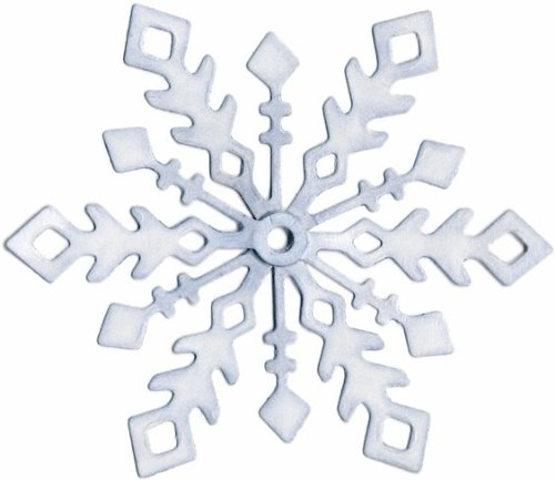 QuicKutz 2-Inch by 2-Inch Die, Snowflake