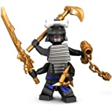Lego Ninjago Minifigure - Lord Garmadon with Gold Weapons (9450)