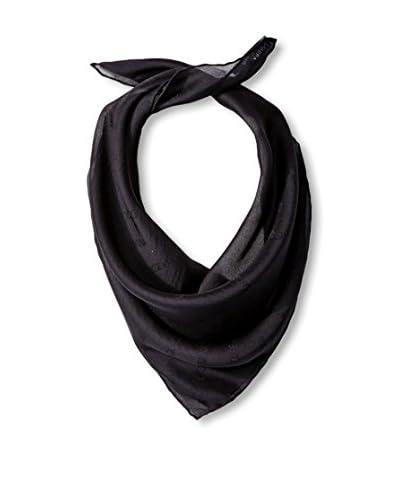 Dolce & Gabbana Women's Plain Silk Scarf, Black