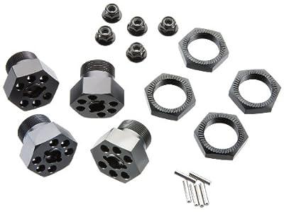 HPI Racing 102530 Aluminum Wheel Hex Hub Set 24mm (Gray/4 Pieces)