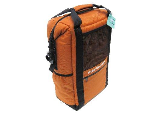 Polar Bear Coolers Backpack, Burnt Orange, 18 X 12 X 7-Inch front-578908