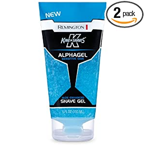Remington King of Shaves Alphagel Sensitive Shave Gel 5 oz. (Pack of 2)