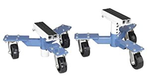 OTC 1572 Car Dollies with 3,600 lbs Capacity - 1 Pair