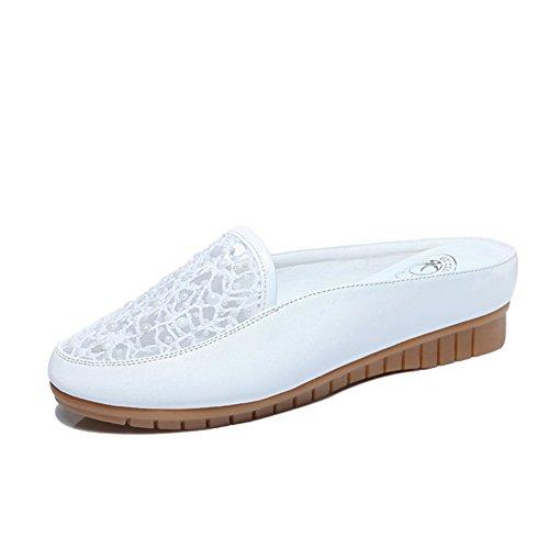 Pantoufles dames/Fond plat à l'extérieur de baotou, chaussures de mode/Plat, portant des sandales et pantoufles