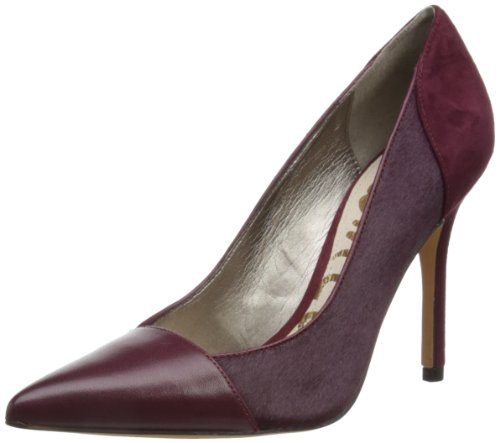 Sam Edelman Women's Vernice British Burgundy Sandals