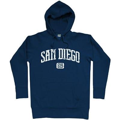 Smash Vintage Men's San Diego 619 Hoodie