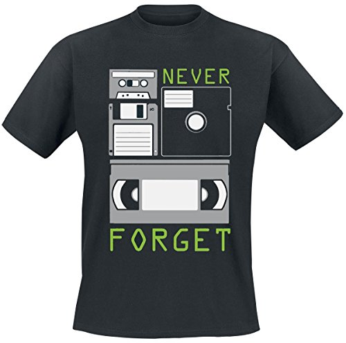 Never Forget T-Shirt nero XXL