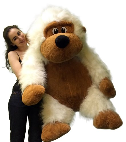 Compare Prices Extra Large Stuffed Monkey With Size 51 Inches Waist Long Fur Big Plush Gorilla Ape Plushie Pal 4 Feet Tall And 3 Feet Wide And 2 And A Half Feet To convert from cm to feet and inches, use the following two conversion equations google sites