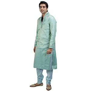 Anshh Blue Men - Kurta Pyjama