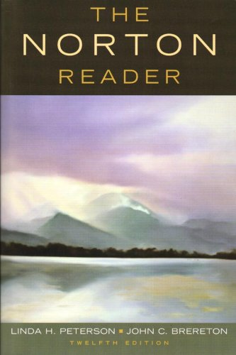 norton short reader essays In the book the norton anthology of short fiction by richard bausch and rv cassill you can find a varieties of writes with different home page free essays.