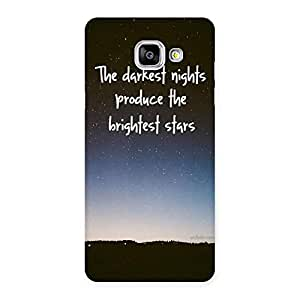 Gorgeous Brightest Star Multicolor Back Case Cover for Galaxy A5 2016