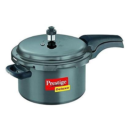 Prestige Deluxe Plus Hard Anodized 3 L Pressure Cooker