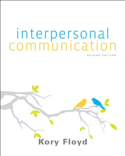 Interpersonal Communication By Kory Floyd Free Download