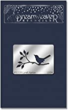 Stampedous Dreamweaver Metal Stencil Bird on The Branch