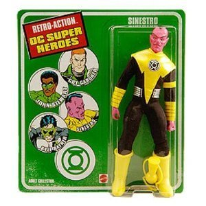 Retro Sinestro DC Superheroes Retro Action Figure (Dc Comics Sinestro Action Figure compare prices)