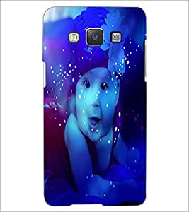 PrintDhaba Cute Baby D-3884 Back Case Cover for SAMSUNG GALAXY A5 (Multi-Coloured)
