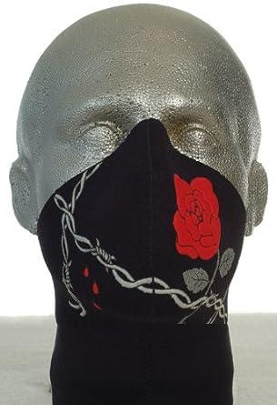 Bandero Biker mask Wild Rose Long Neck