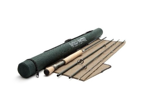 Wild Water Fly Fishing 7 Weight, 10 Foot 4 Piece Freshwater Fishing Rod