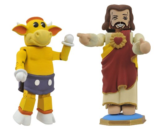 Diamond Select Toys View Askew Minimates: Mooby and Dashboard Jesus (2-Pack)