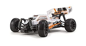 Kyosho Dirt Hog Ready-to-Run RC 4WD Buggy Car with Team Orion Battery and Charger, Orange
