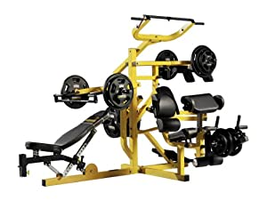 Powertec WB-MS10 Workbench Multi System (Yellow)