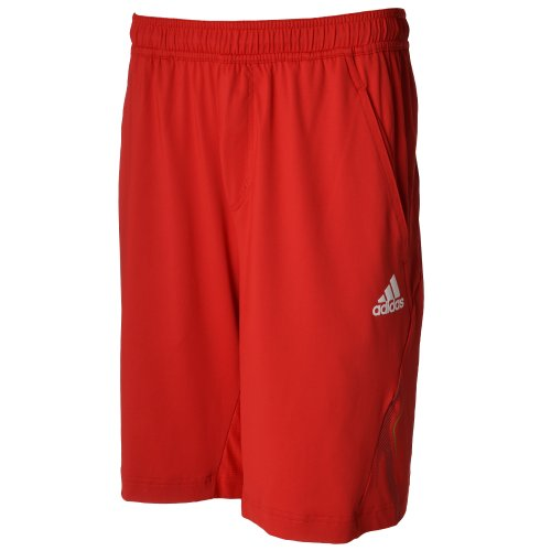 Adidas Mens Barricade Tennis Shorts - Red - O04975