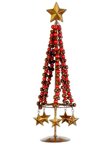 silk-plants-direct-jingle-bell-star-table-top-topiary-pack-of-2