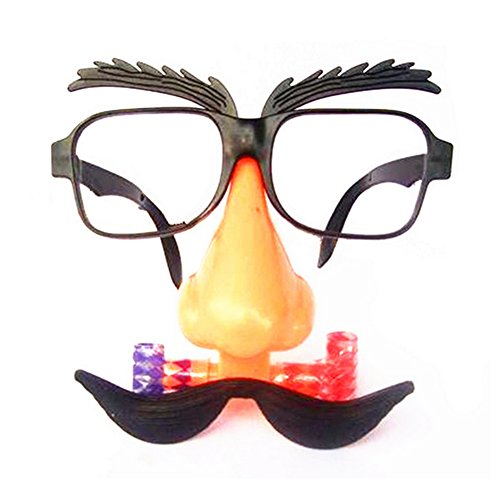 KingBig Fancy Glasses, Party Favors Costume Prop Cosplay Glasses (Style 2) (Disguise Can compare prices)