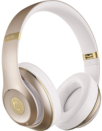 Beats By Dr. Dre Studio 2.0 Over-Ear Second Generation Headphones (Champagne)