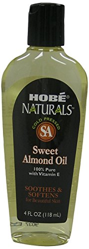 Hobe Naturals Sweet Almond Oil, 4 Fluid Ounce (Hobe Naturals compare prices)