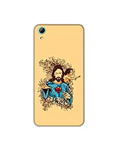 HTC Desire 826 ht003 (164) Mobile Case from Mott2 - Jesus Christ - Holy (Limited Time Offers,Please Check the Details Below)