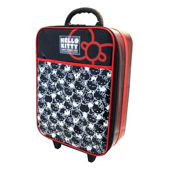 Hello Kitty Rolling Luggage: Faces