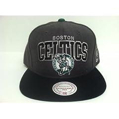 Mitchell & Ness Boston Celtics Snapback Hat by Mitchell & Ness