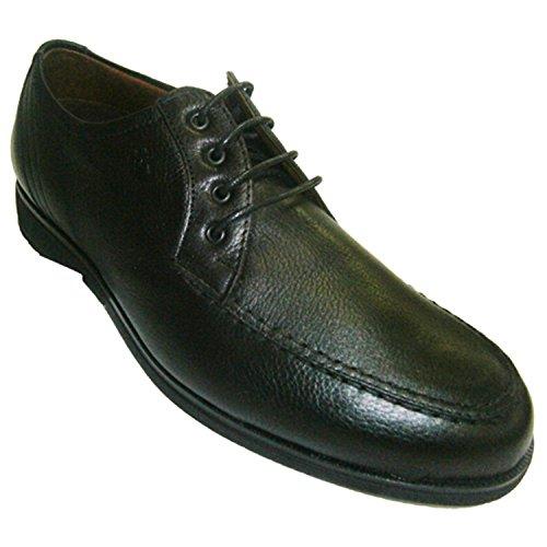 Lacci per le scarpe di gomma del pavimento Pitillos nero taille 45
