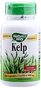 NATURE'S WAY, Kelp - 100 caps