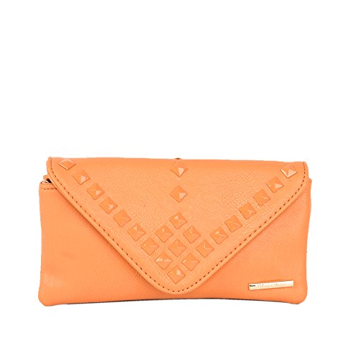 Mustard Diana Korr Mustard PU Bonnie Wallet For Women (Yellow)