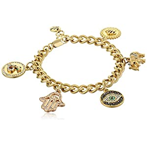 Juicy Couture Pre-Assembled Gypset Charm Bracelet